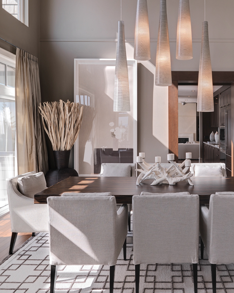 Contemporary grey dining room just decorate for Interior design for dining area