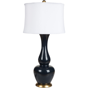 black with gold rim lamp lmp1061