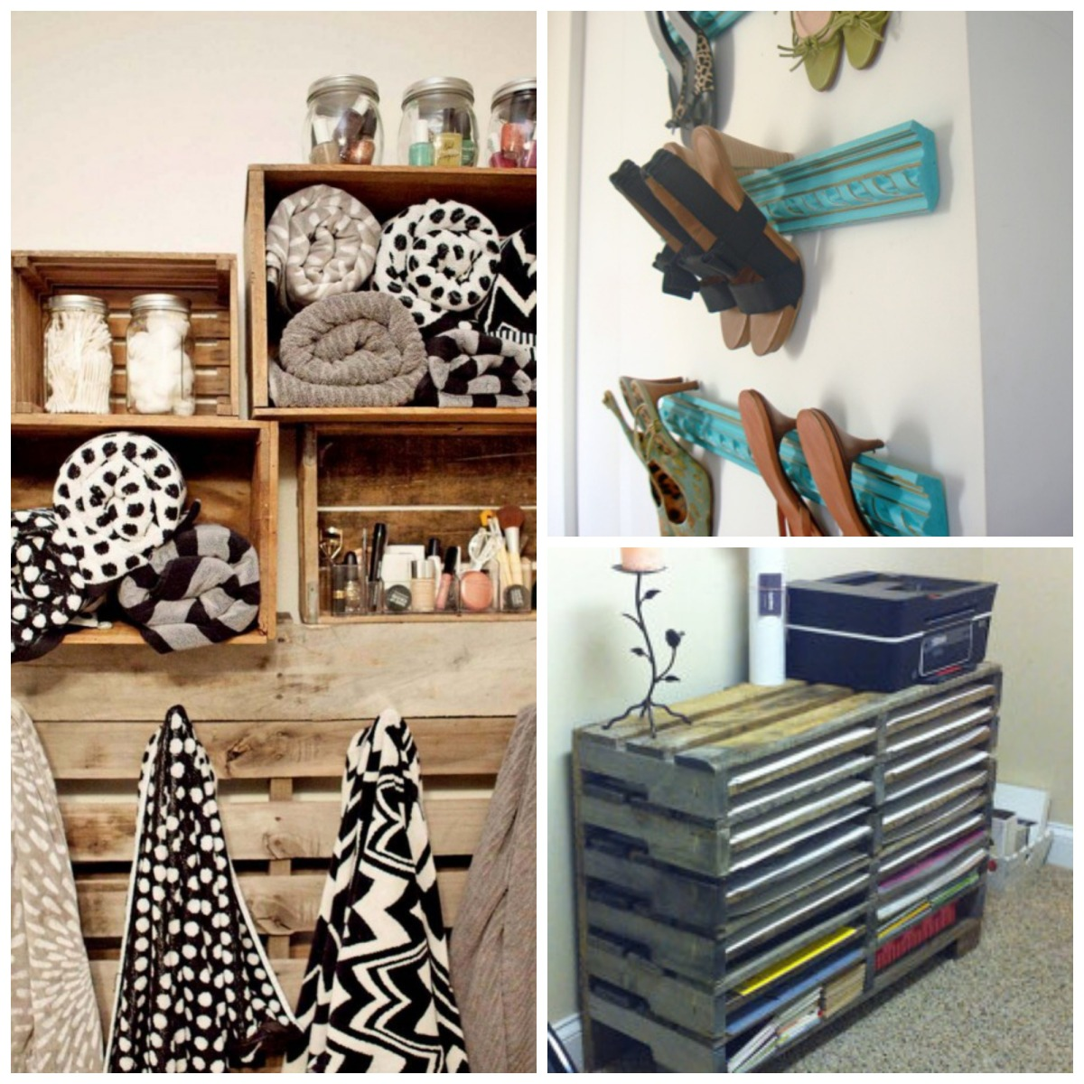 Diy unique storage ideas just decorate for Creative shelf ideas